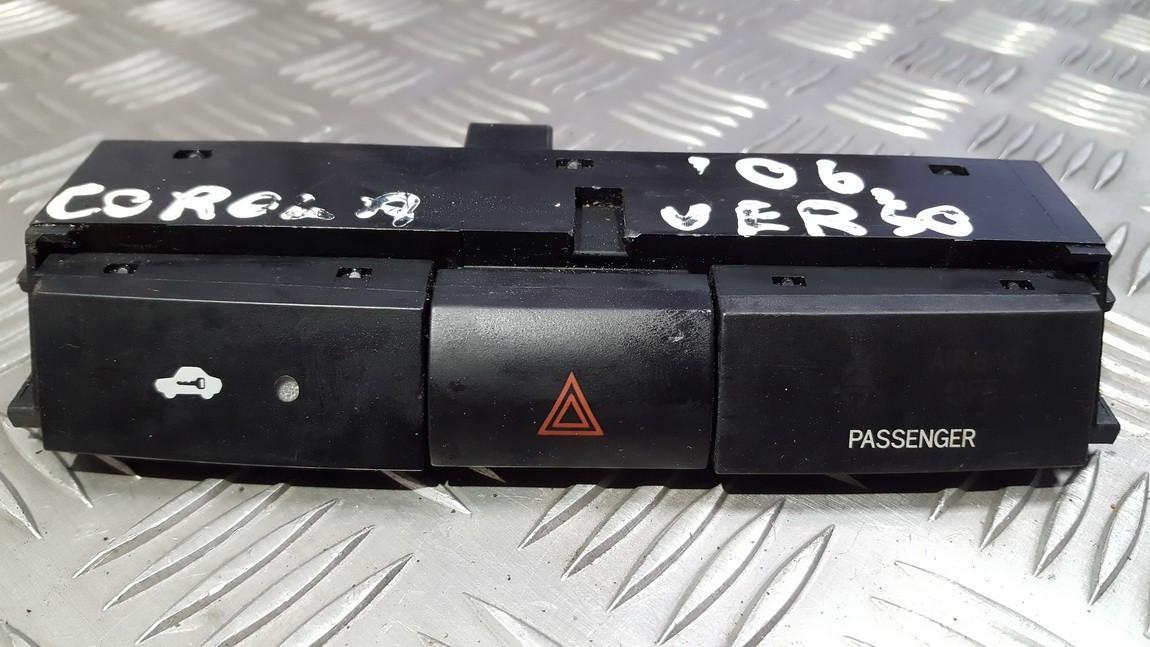 Кнопка аварийной сигнализации  USED USED Toyota COROLLA VERSO 2007 2.2