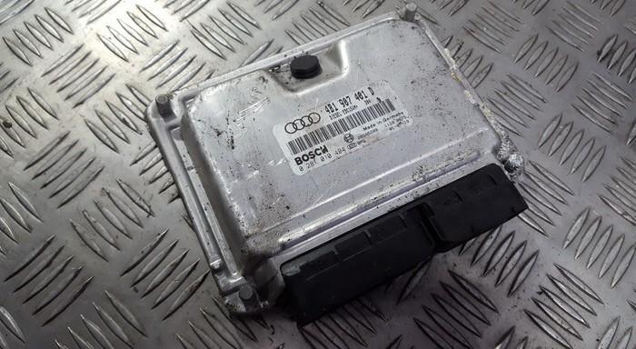 Variklio kompiuteris 4b1907401d 0281010494 Audi A6 2005 3.0