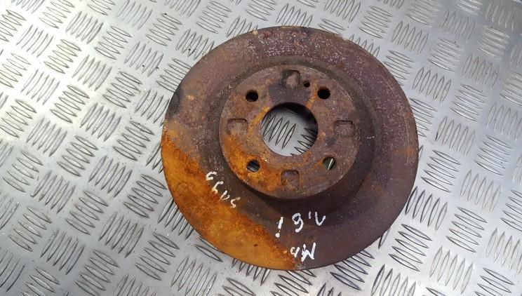 Priekinis stabdziu diskas used used Mazda 323F 1999 2.0