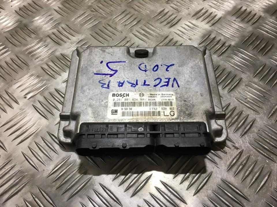 ECU Engine Computer (Engine Control Unit) 0281001634 980304, 28sa3626, 86304, 17700613, 90569348, b97010863040613,  lg Opel VECTRA 1997 2.0