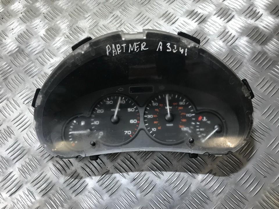 Spidometras - prietaisu skydelis 9662745780 000708714, m59-4-00 Peugeot PARTNER 2005 2.0