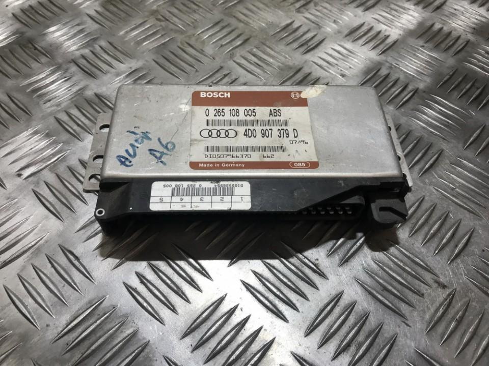 ABS kompiuteris 0265108005 4d0907379d, di0507966370, 662, di0507966370662 Audi A6 1998 2.5