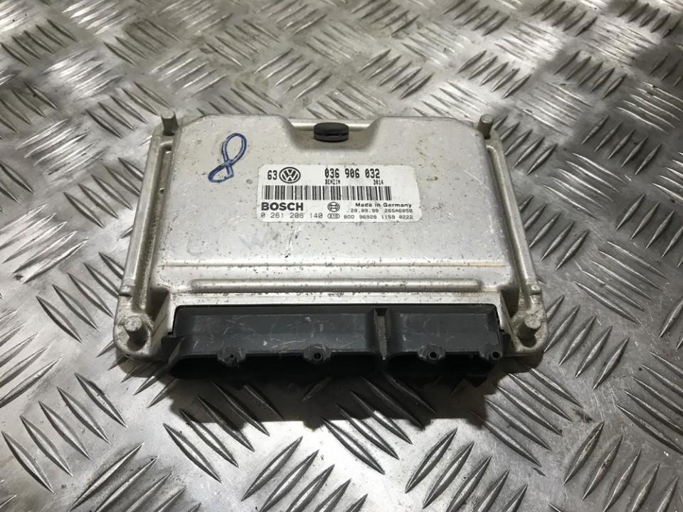 ECU Engine Computer (Engine Control Unit) 0261206140 3014, 036906032, 26sa6058, 96928, 1159, 0222, 9692811590222 Volkswagen GOLF 2004 1.6