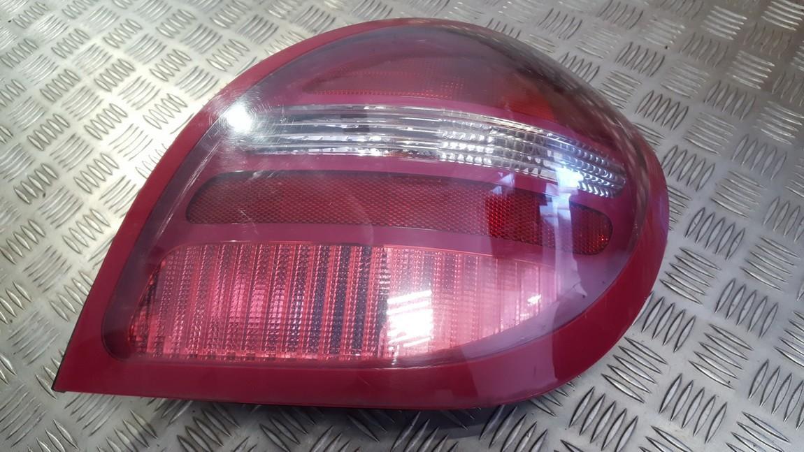 Tail light inner, right side 26550bn010 236876, 236873 Nissan ALMERA 2002 2.2