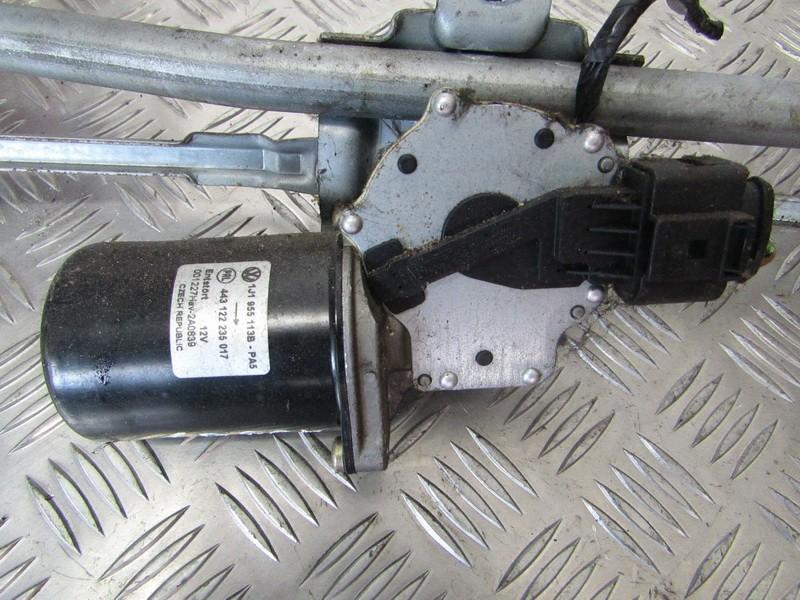 Priekinis langu valytuvu varikliukas 1J1955113B 443122235017, 001227HAV-2A0839 Seat TOLEDO 1996 1.9