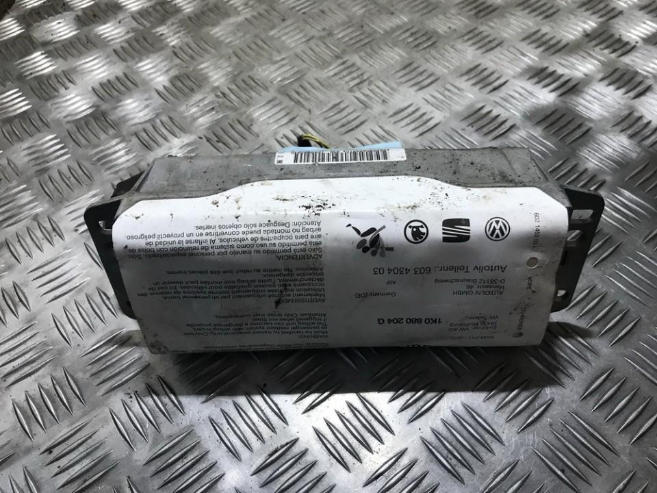 Salono paneles oro pagalve SRS 1k0880204g 603430403 Volkswagen GOLF 2005 1.6