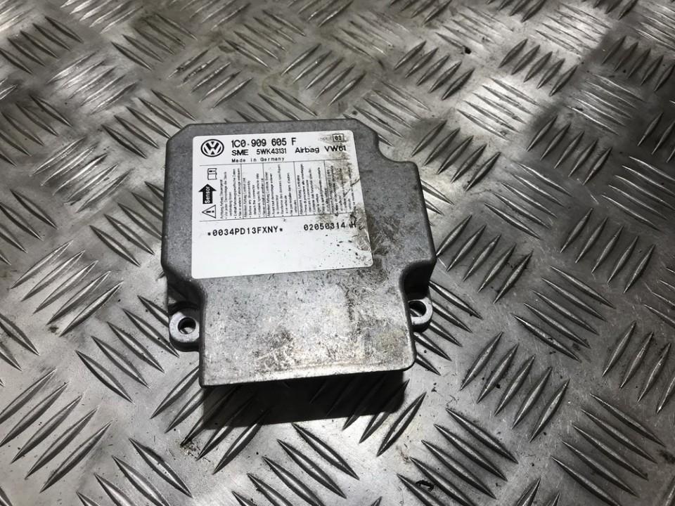 SRS AIRBAG KOMPIUTERIS - ORO PAGALVIU VALDYMO BLOKAS 1c0909605f sme, 5wk43131, 0034pd13fxny, 02050314h Ford GALAXY 1996 2.0