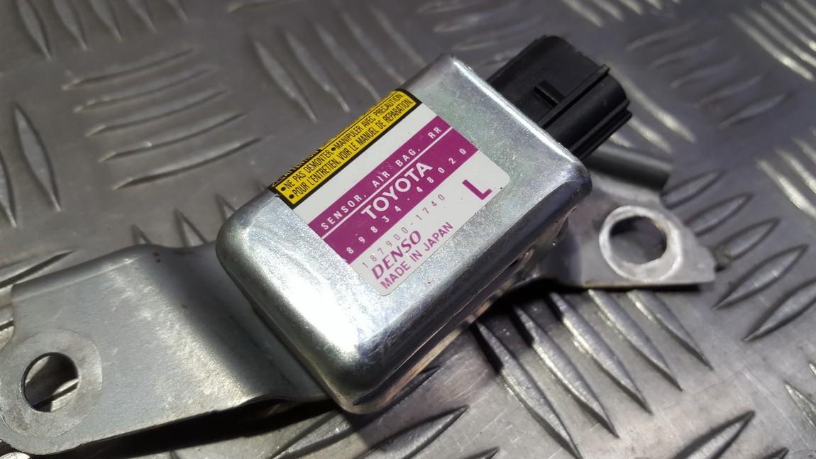 Srs Airbag daviklis 8983448020 89834-48020, 187900-1740, 1879001740 Lexus RX - CLASS 2004 3.0