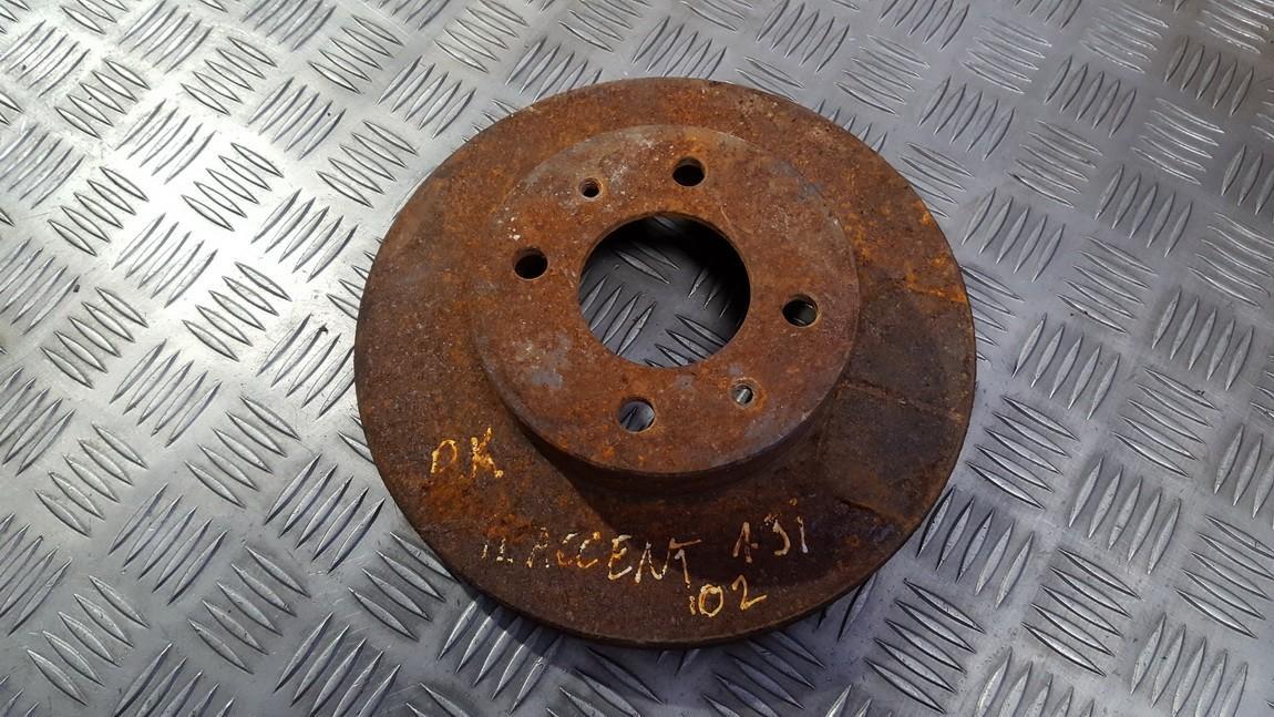Priekinis stabdziu diskas used used Hyundai ACCENT 1997 1.5