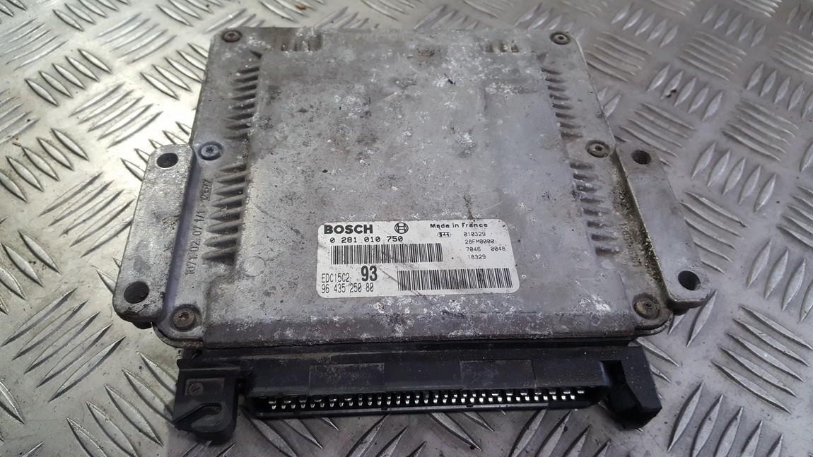 Variklio kompiuteris 0281010750 9643525080 Citroen XSARA PICASSO 2000 2.0