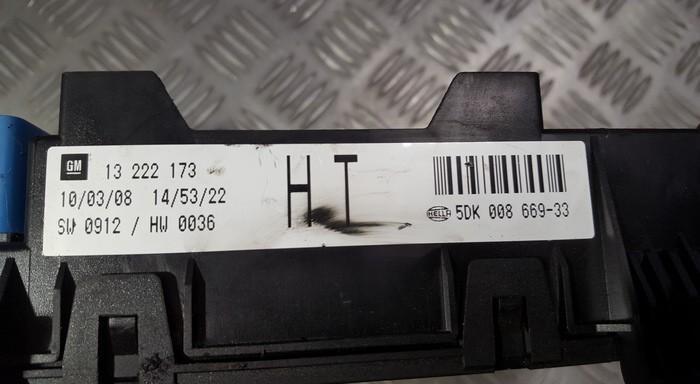 Saugikliu deze 13222173 5DK008669-33, 5DK00866933 Opel ASTRA 1998 2.0