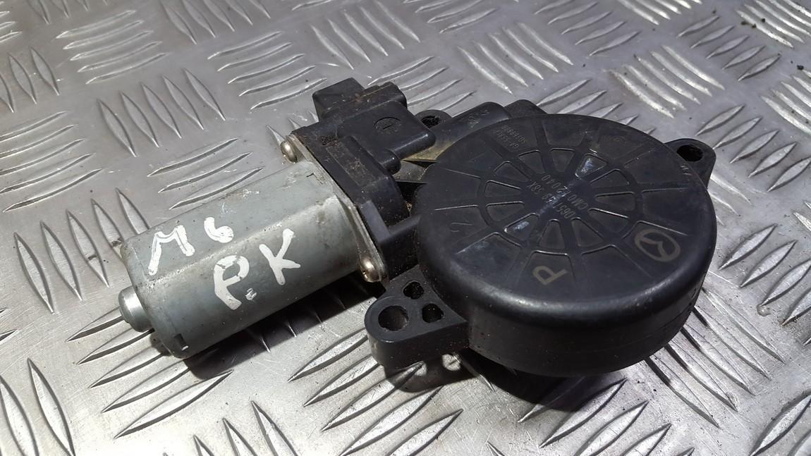 Window Motor Front Left D6515958X CM012040, SD969806 Mazda 6 2002 2.0