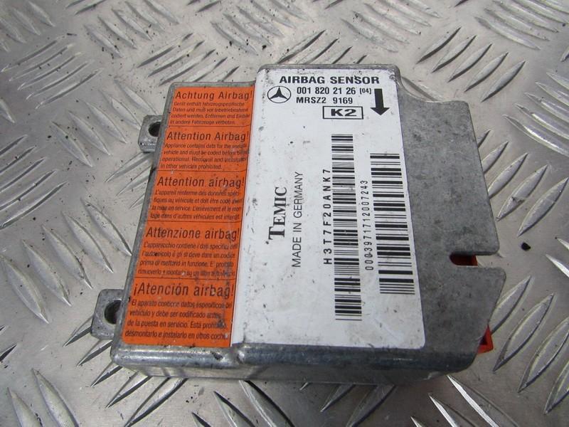 Блок управления AIR BAG  0018202126 MRSZ29169 Mercedes-Benz C-CLASS 2004 1.8