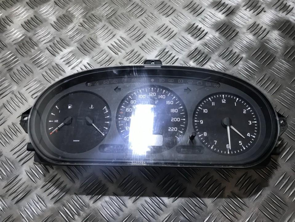 Renault  Scenic Spidometras - prietaisu skydelis