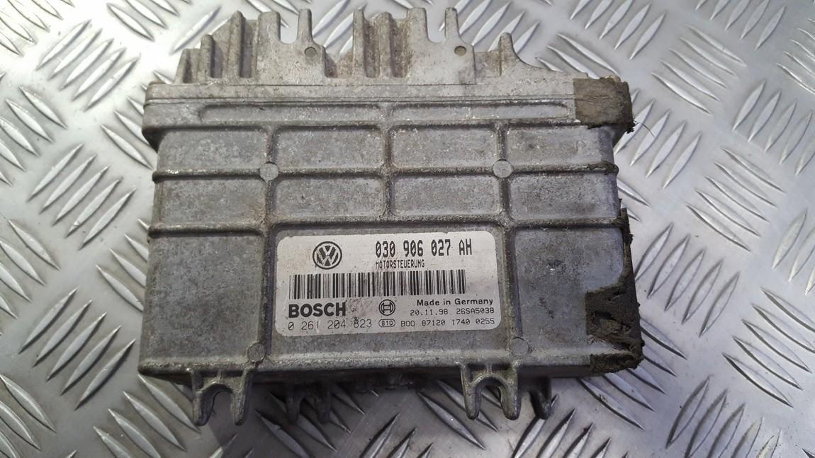 ECU Engine Computer (Engine Control Unit) 030906027ah 0261204823 Volkswagen LUPO 1999 1.7