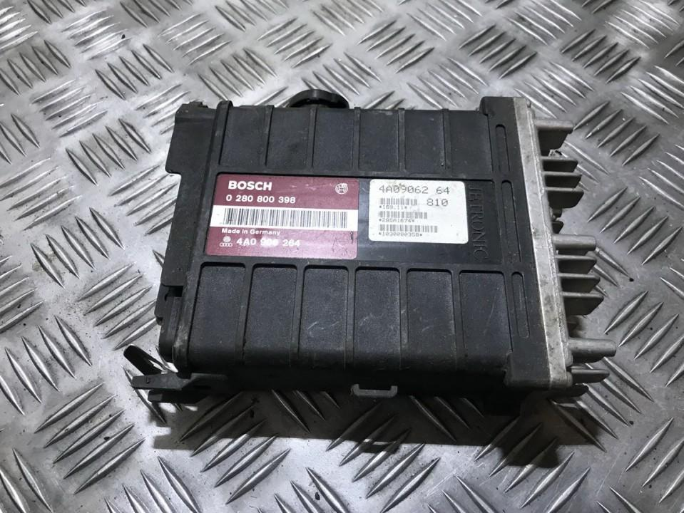 ECU Engine Computer (Engine Control Unit) 0280800398 4a0906264, 810 Audi 80 1992 1.9