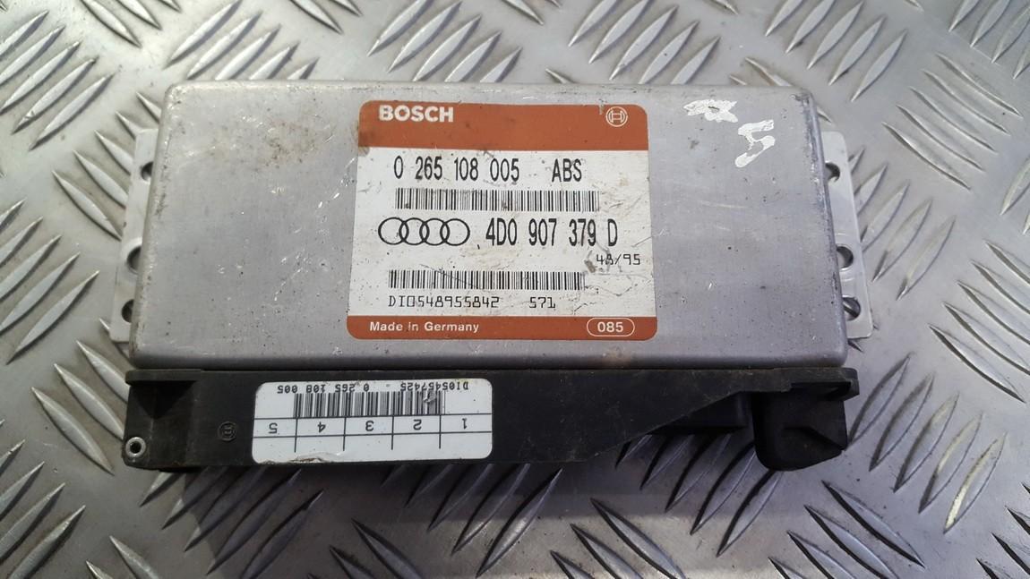 ABS kompiuteris 0265108005 4d0907379d, di0548955842 Audi A6 1994 2.5