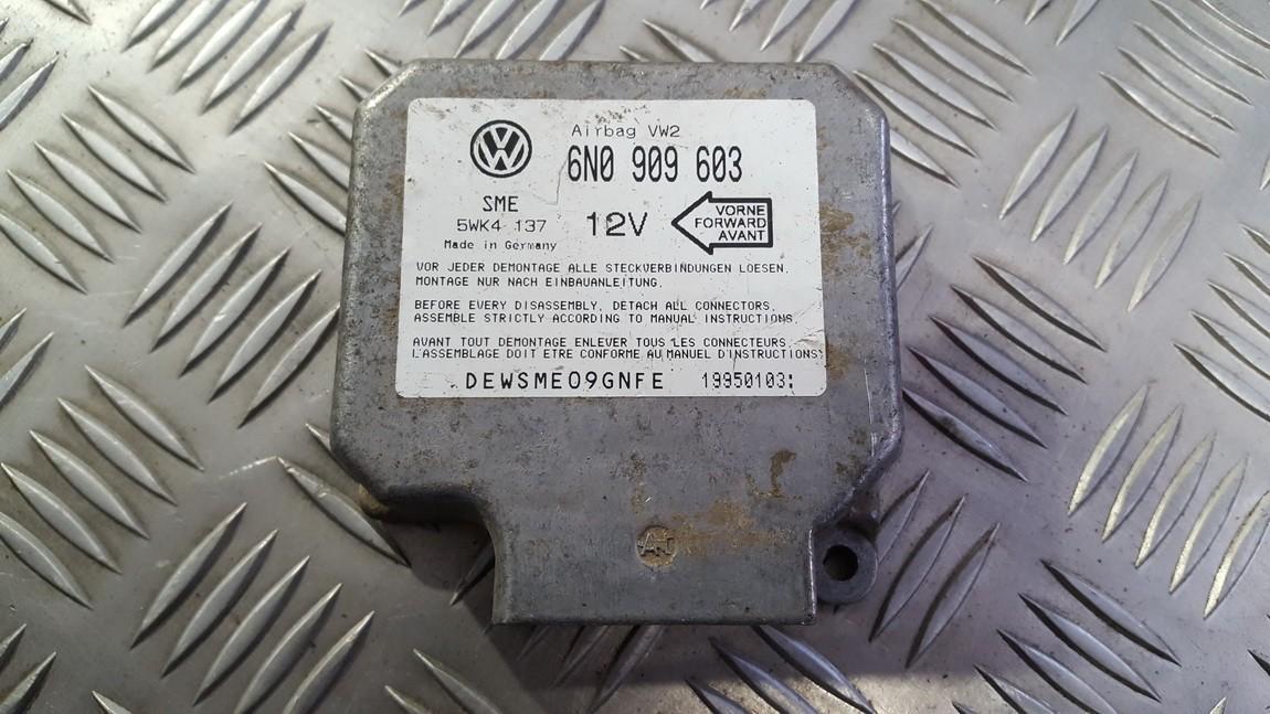 Airbag crash sensors module 6n0909603 5wk4137 Volkswagen SHARAN 2003 1.9