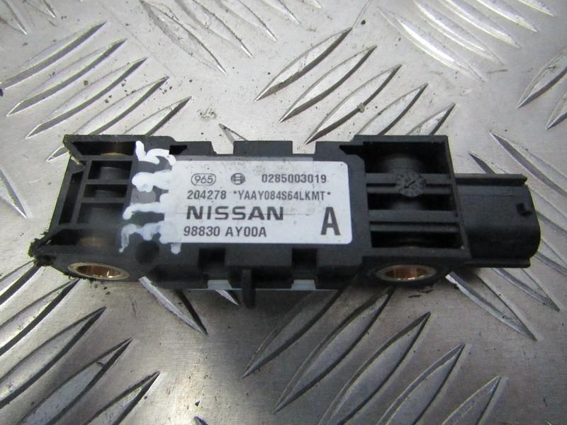 Srs Airbag daviklis 0285003019 98830ay00a Nissan NOTE 2006 1.6