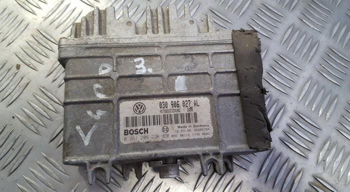 Variklio kompiuteris 030906027al 0261206226 Volkswagen LUPO 1999 1.7