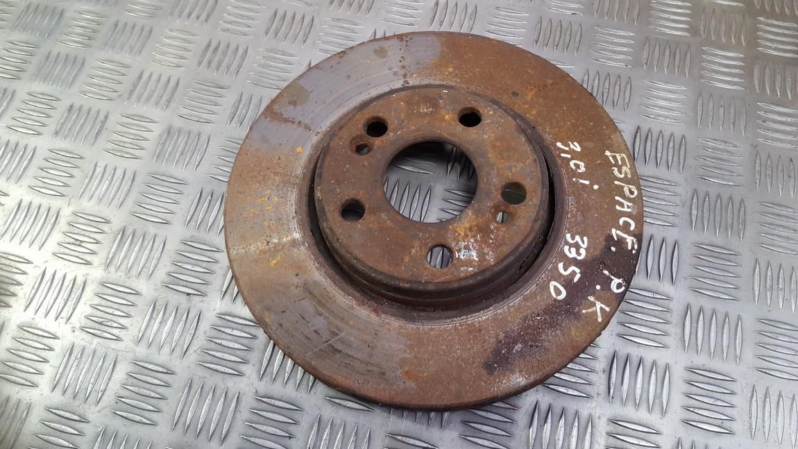 Priekinis stabdziu diskas used used Renault ESPACE 2002 2.2