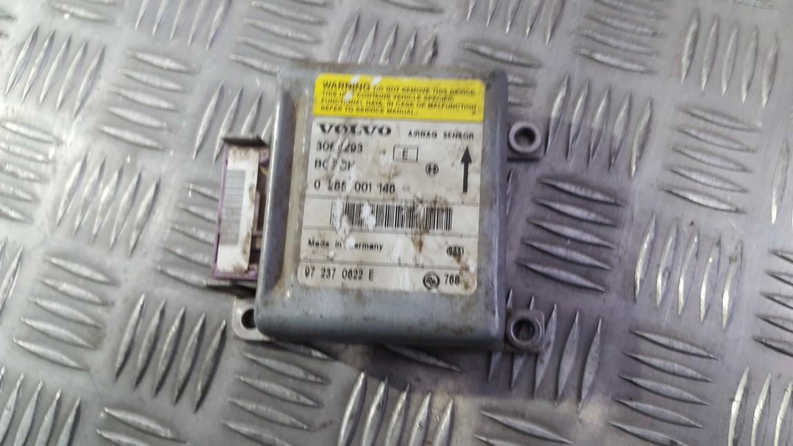 Airbag crash sensors module 0285001146 972370622E, 30611293E, 30611293 Volvo V40 1998 1.9