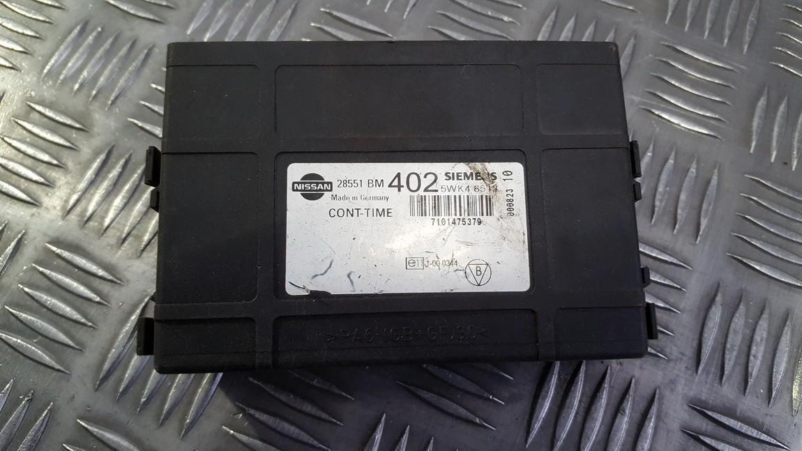 Komforto blokas 28551BM402 5WK48513 Nissan ALMERA 2006 1.5