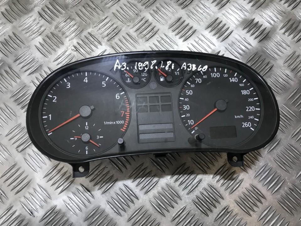Audi  A3 Spidometras - prietaisu skydelis