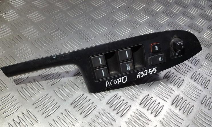 Power window control (Window Regulator-Window Switch) Honda  Accord