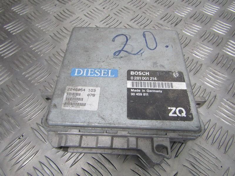 ECU Engine Computer (Engine Control Unit) 0281001214 90459811 Opel OMEGA 1994 2.0