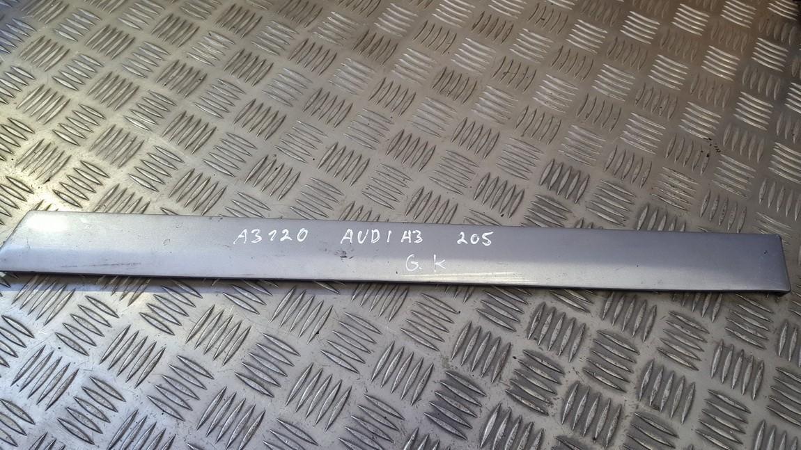 Slenkscio moldingas galinis Audi A3 2005    1.9 8p3859699b