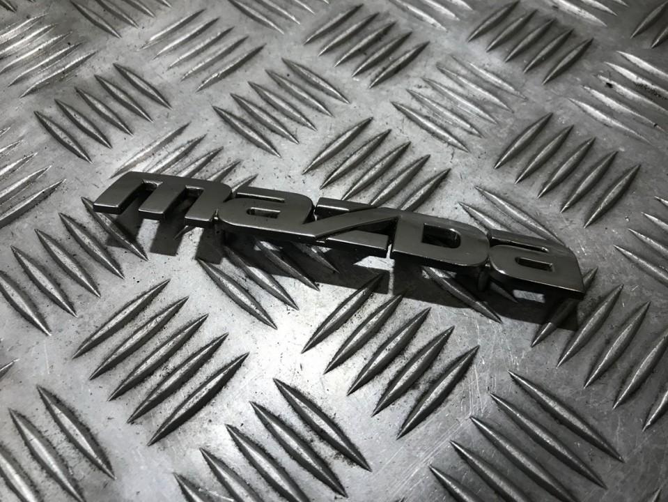 Galinis zenkliukas (Emblema) used used Mazda 323F 1997 1.8