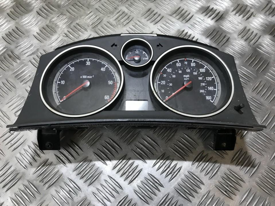 Speedometers - Cockpit - Speedo Clocks Instrument 13230580 sw4405, uz, 3024902e Opel ASTRA 1994 1.7