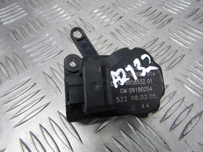 Peciuko sklendes varikliukas 09180204 985853Z, 006968Q SAAB 9-3 1998 2.2
