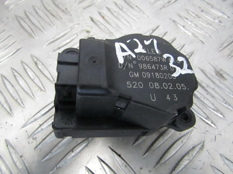 Peciuko sklendes varikliukas 09180200 986473R01, 006587W SAAB 9-3 1998 2.2