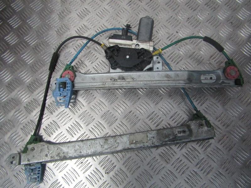 Door winder mechanism (Window Regulator) front left side 9641241380 used Citroen C2 2005 1.4