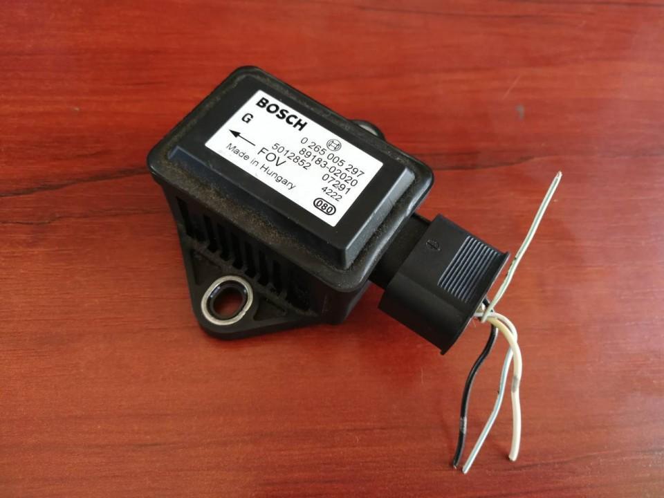 ESP greitejimo sensorius 0265005297 89183-02020, 8918302020 Toyota AVENSIS 1998 1.8