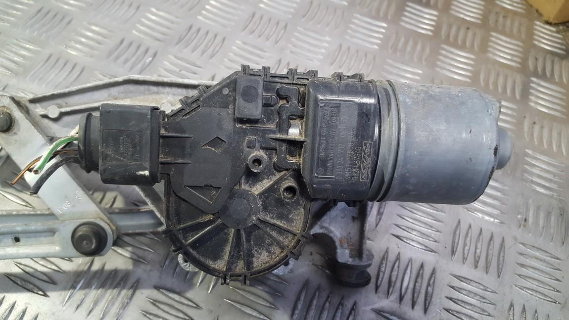 0390241732 4M51-17508-BA windscreen front wiper motor Ford Focus 2005 1 6L  18EUR EIS00380220   Used parts Shop