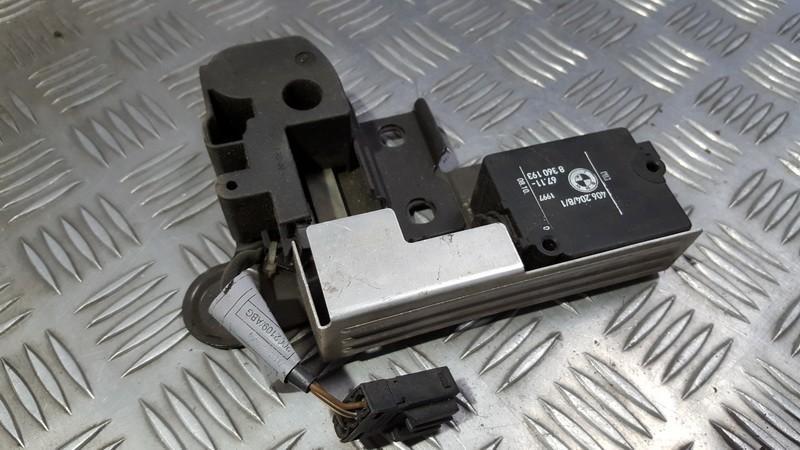 Galinio Dangcio atidarymo varikliukas (uzdarymo) BMW 5-Series 2001    0.0 67118360193