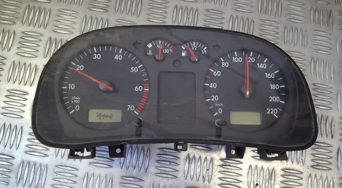 Spidometras - prietaisu skydelis 1J0919861 0263611000 Volkswagen GOLF 1994 1.9