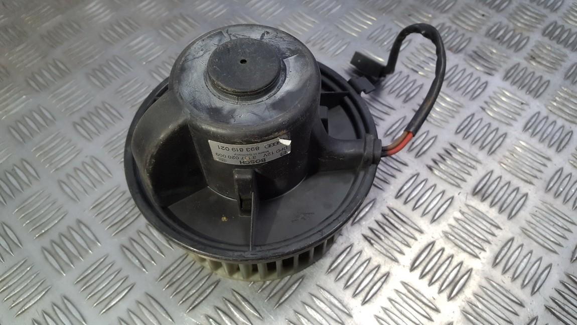 Salono ventiliatorius 893819021 3137020009 Audi 80 1994 1.9