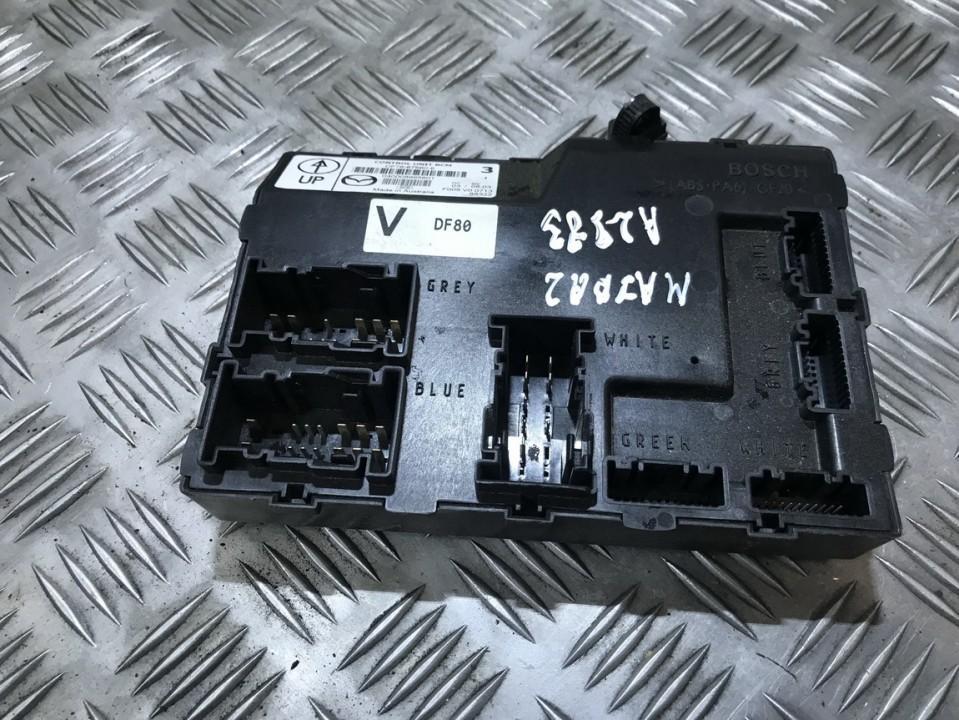Komforto blokas df7667560e df76-67560-e, f005v00713, 88322, df80 Mazda 2 2003 1.4