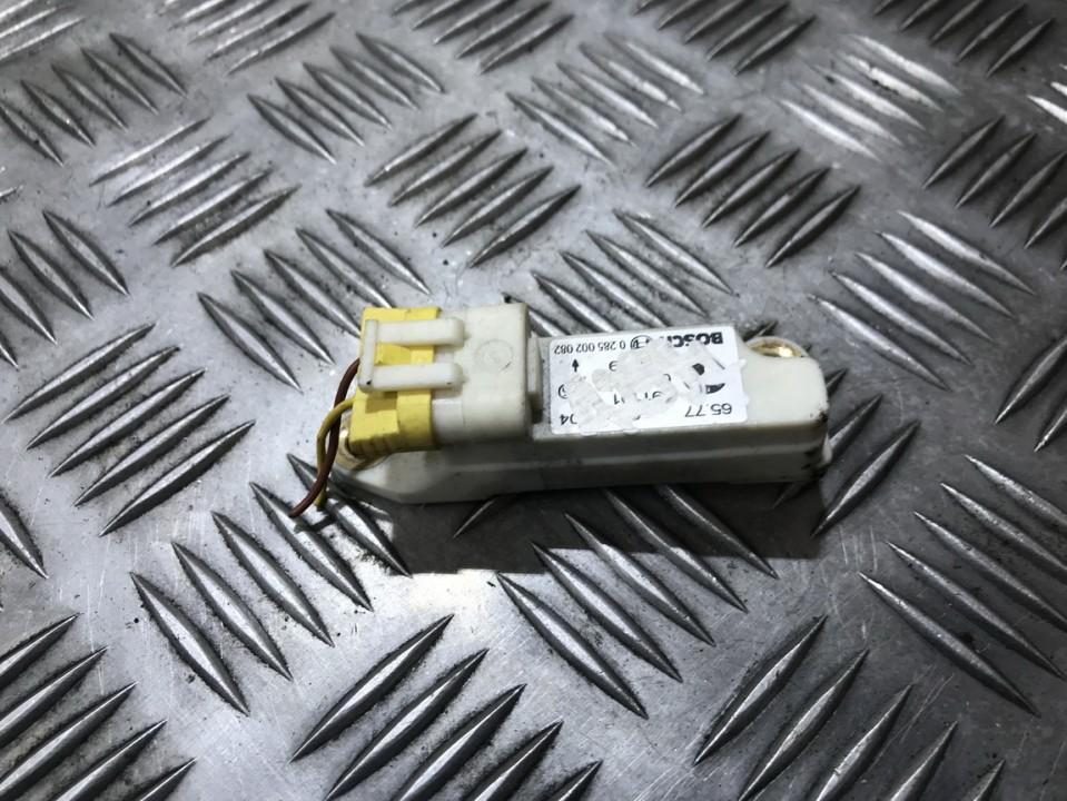 Srs Airbag crash sensor 0285002082 6914304, 65.77-6914304 MINI ONE 2003 1.6
