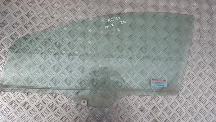 Mazda  2 Door-Drop Glass front left