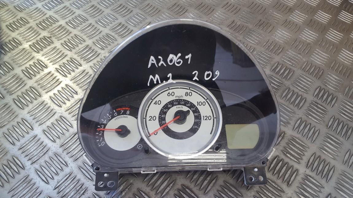 Mazda  2 Speedometers - Cockpit - Speedo Clocks Instrument