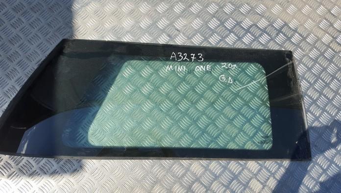 Rear Right passenger side corner quarter window glass used used MINI ONE 2003 1.6