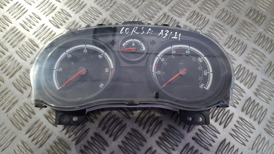 Щиток приборов - Автомобильный спидометр p0013264258 1563662, 28120245-3, 281202453, 1303304b Opel CORSA 1997 1.7