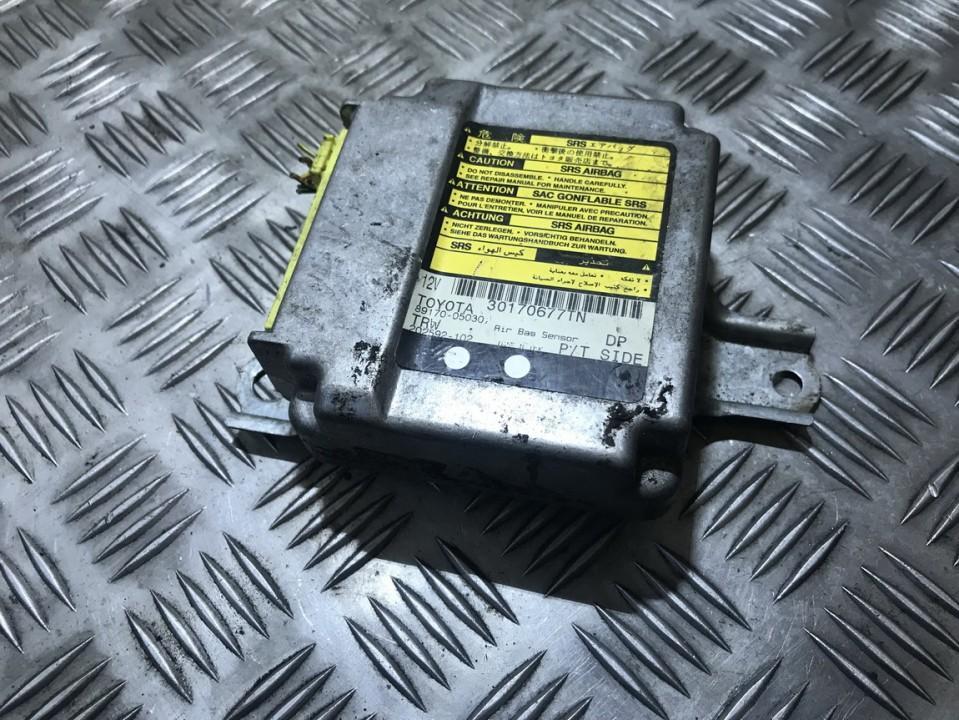 Блок управления AIR BAG  8917005030 89170-05030, 202592-102, 30170677tn,  Toyota AVENSIS 2001 2.0