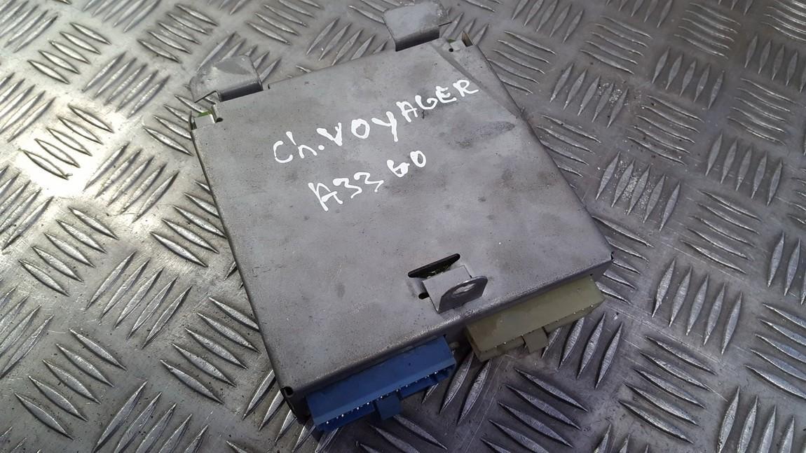 Kiti kompiuteriai used used Chrysler VOYAGER 2003 2.5
