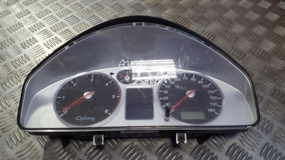 Spidometras - prietaisu skydelis 7m5920920s 4b0953503h Ford GALAXY 2001 2.3